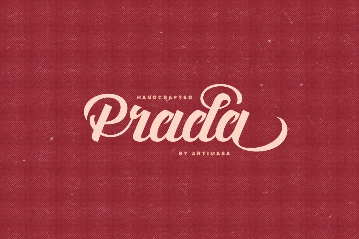 Artimasa's Fun, Vintage Prada Script Font - only $9!