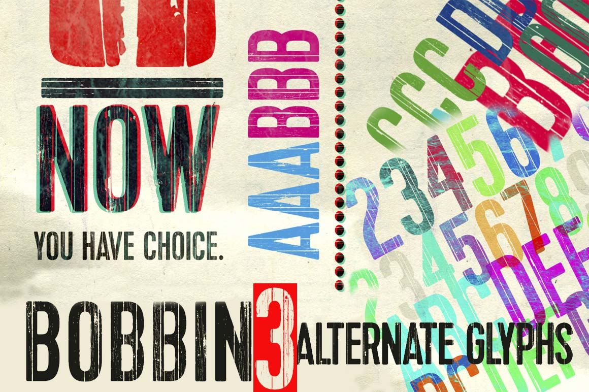 Polish-Inspired Bobbin Typeface with 400+ Glyphs - only $5!