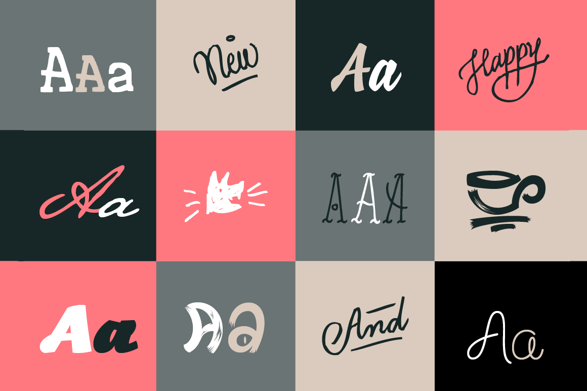 Bundle of 9 Beautiful, Professional Script Fonts from FontYou - only $27!