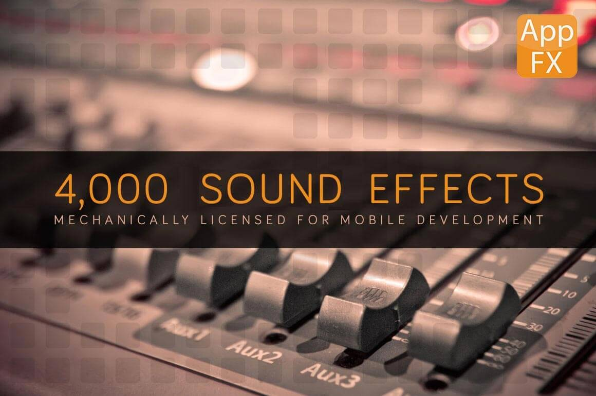 App FX Sound Effects Library with 4,000+ Effects - 90% off!