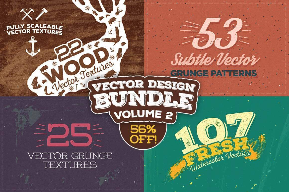 200+ Professional Vector Design Elements from LayerForm - only $11!