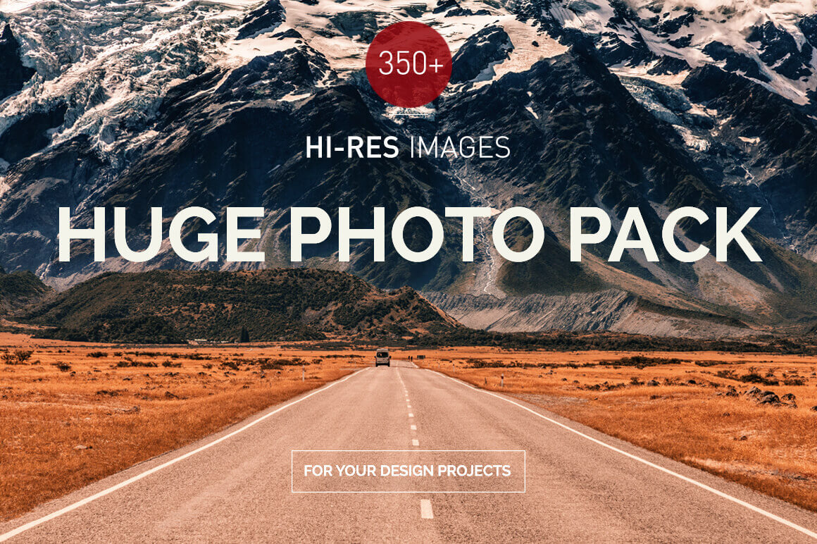 350+ Super Hi-Res Urban, Nature and Landscape Photos - just $18!