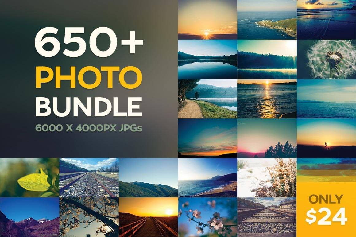 650 Hi-Res Stock Photos from ApertureVintage - only $24!