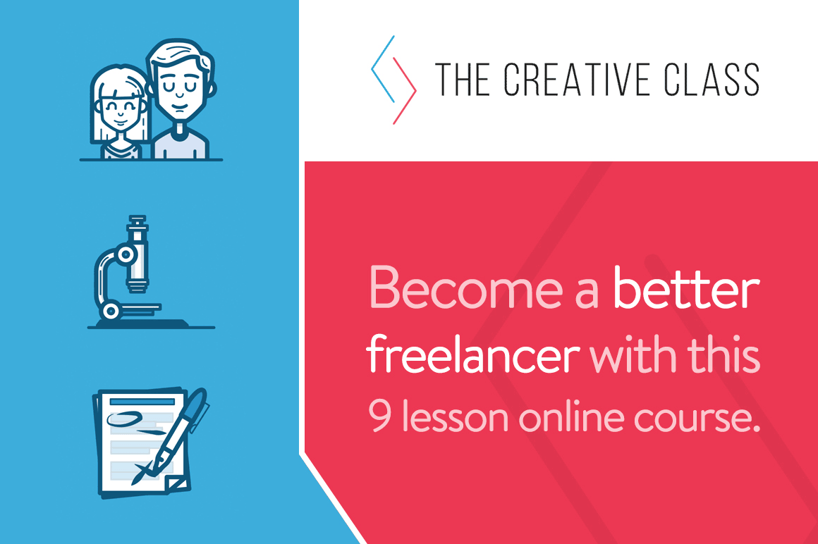The Creative Class to Become a Better Freelancer - 81% off!