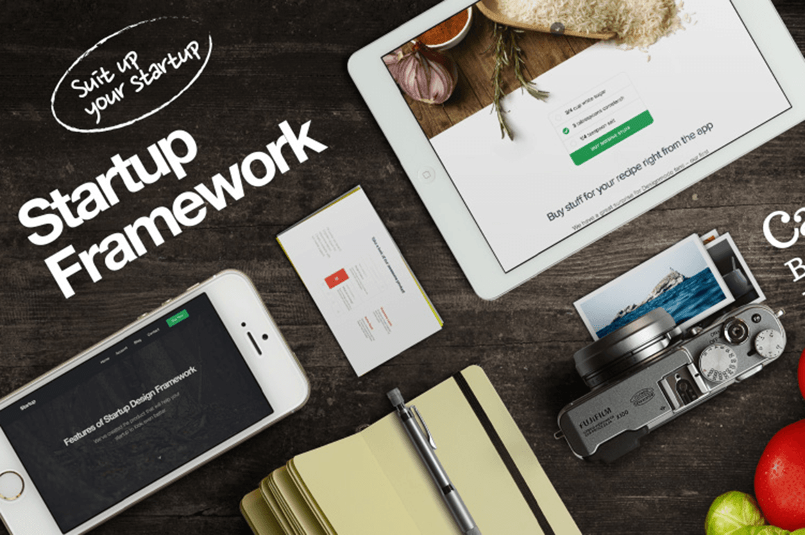 Build Powerful Websites with the Startup Design Framework - 80% off!