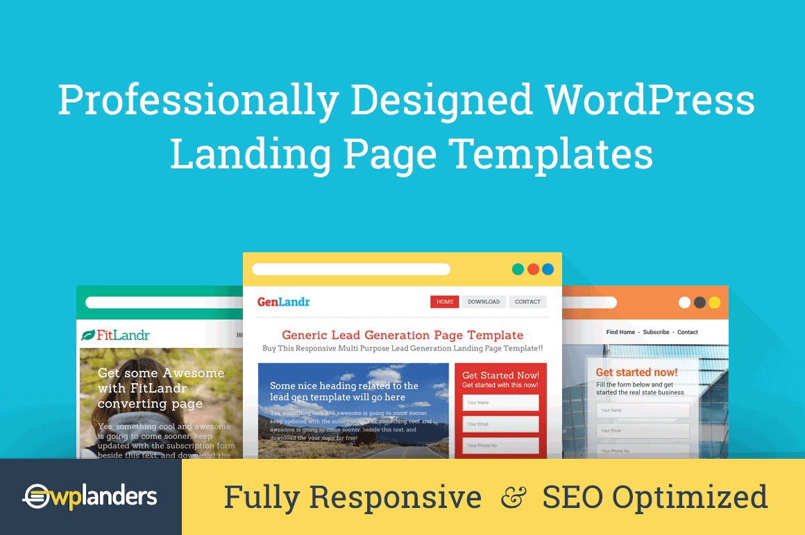 10 Professionally Designed WordPress Landing Page Themes  - only $17!