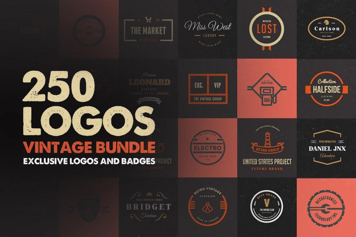 250 logos: