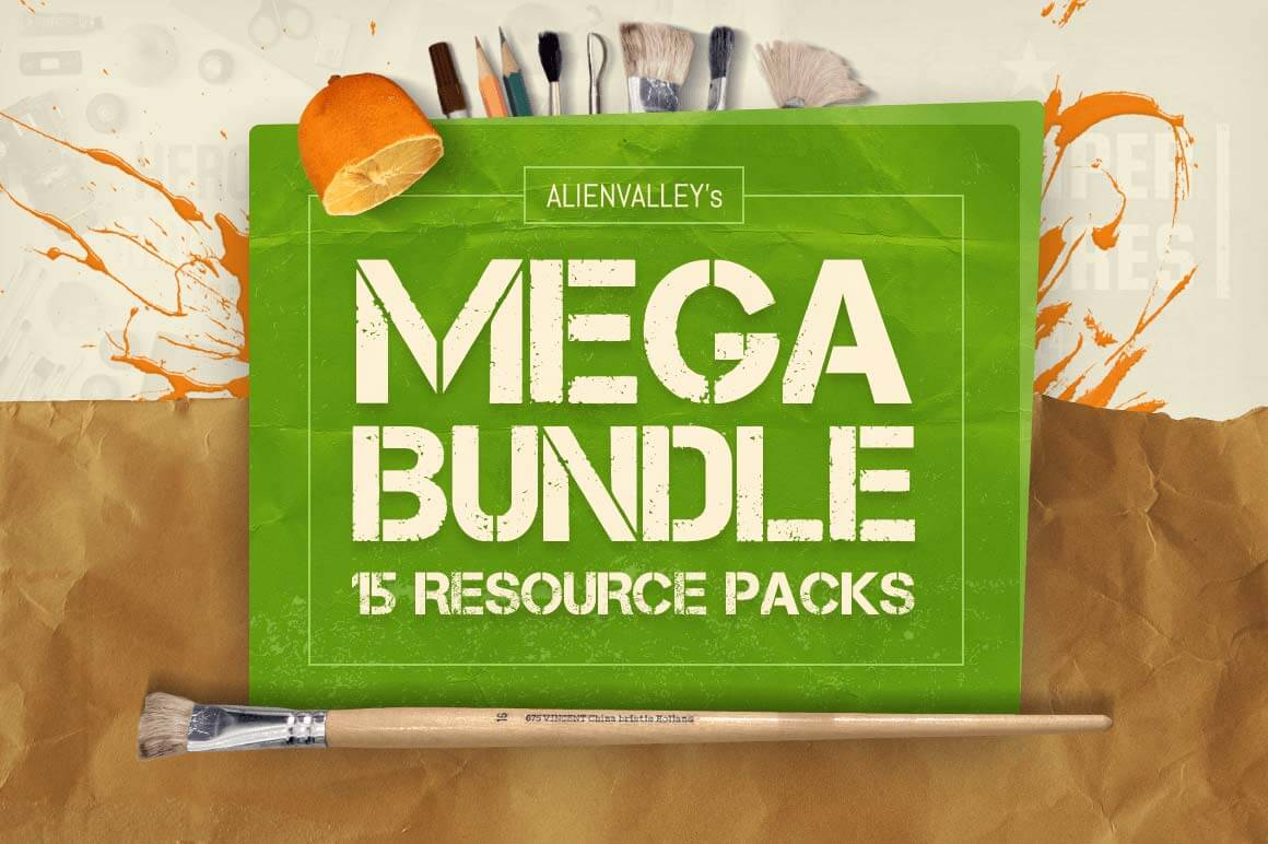 AlienValley's Mega Bundle (15 Resource Packs) - only $27!