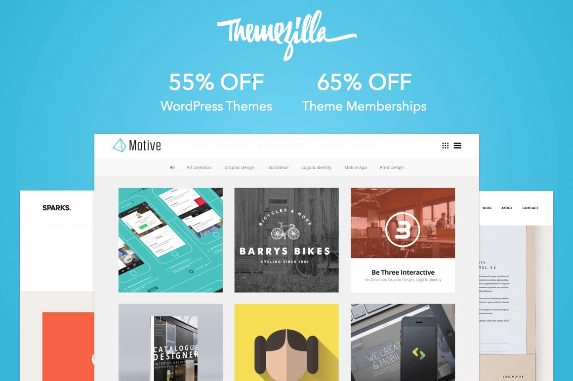 55% off Themezilla's Premium WordPress Themes & Plugins!