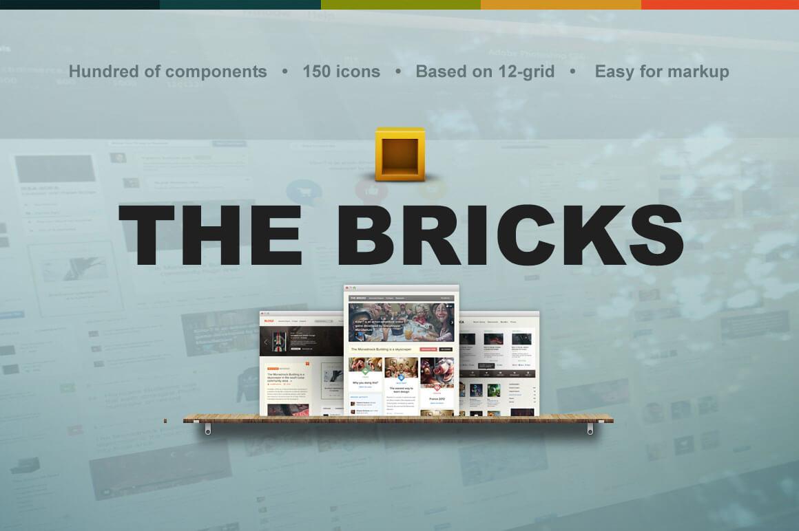 The Bricks: Massive UI Bundle - only $29!