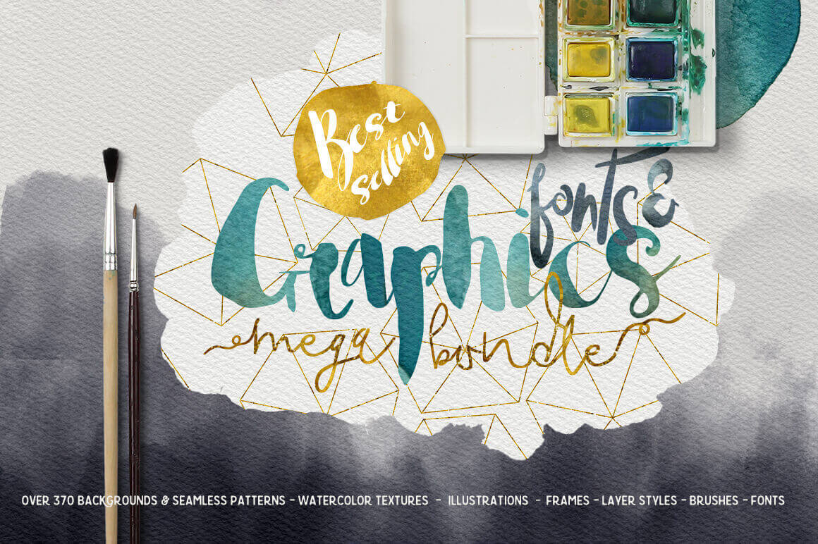 Massive Designer Toolbox: 350+ Best-Selling Graphics, Fonts & Resources - only $27!