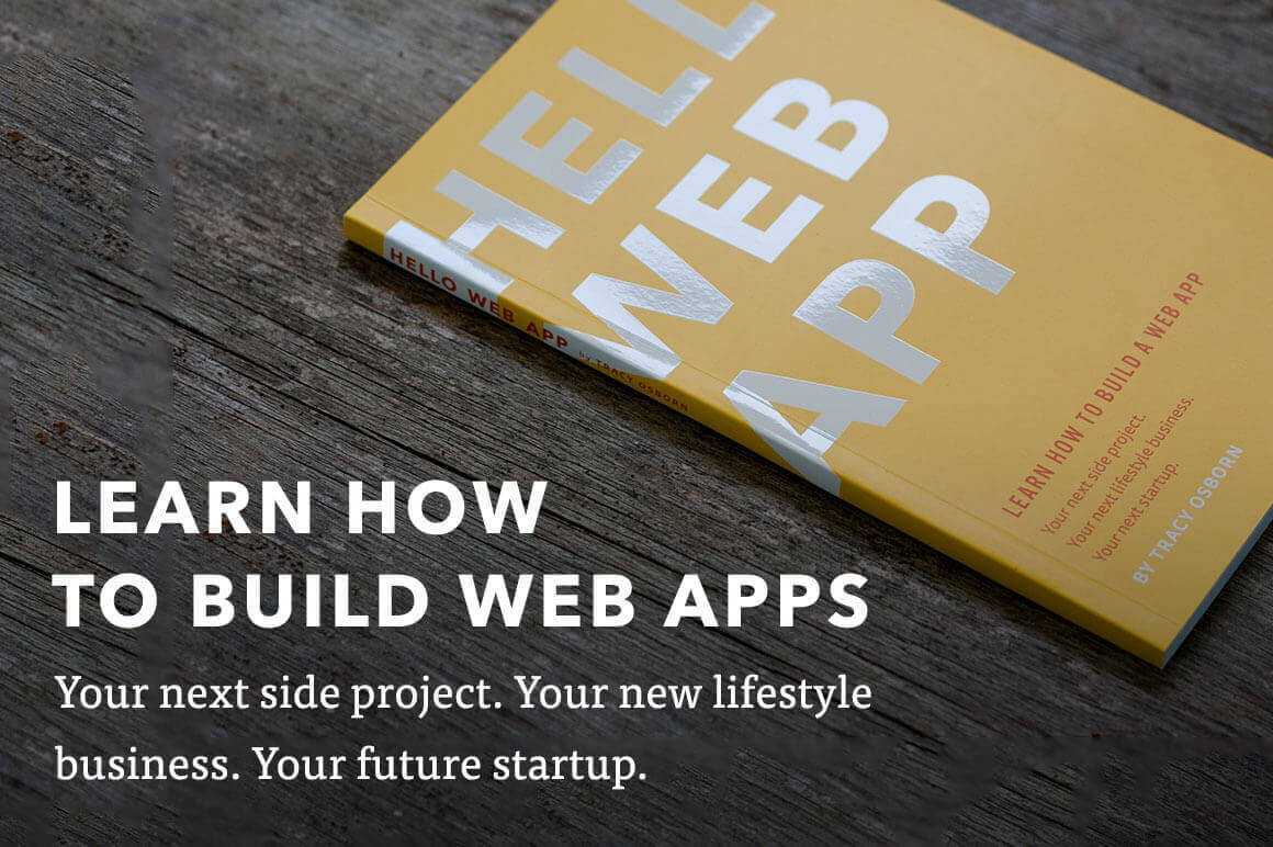 eBook: Learn How to Build a Web App - only $7!