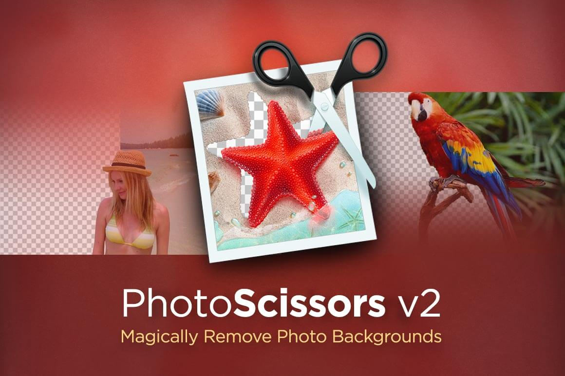 Remove Image Backgrounds with PhotoScissors version 2  for Windows or Mac - only $9.97!