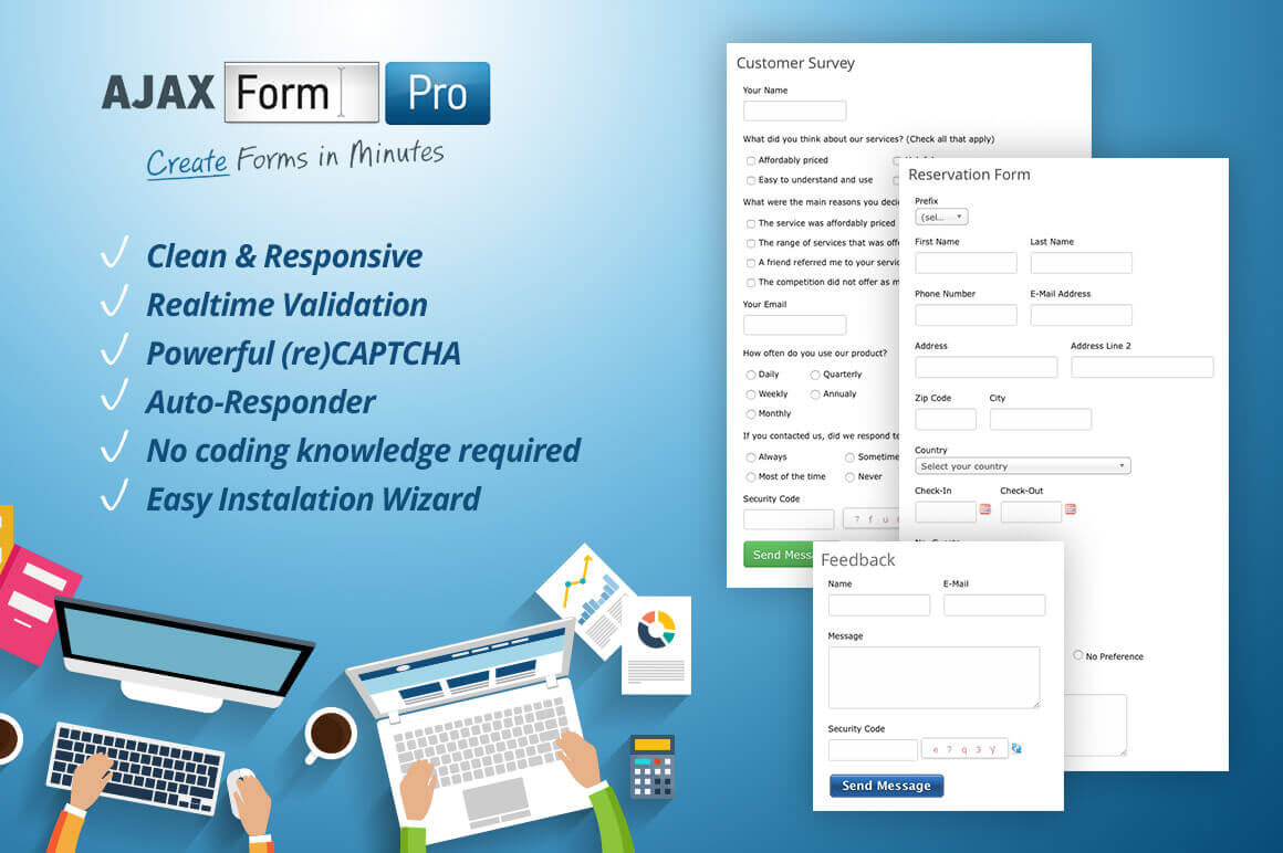 Create Slick AJAX Forms in Minutes - only $13!