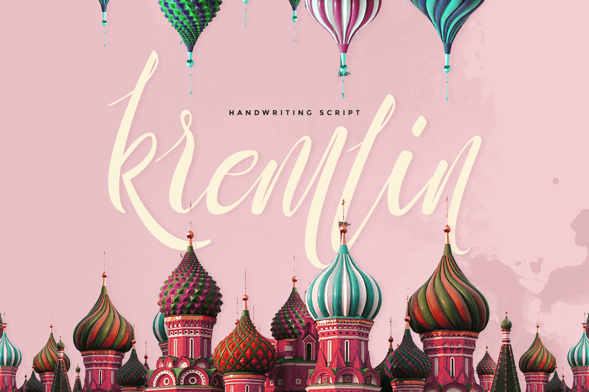 Kremlin : A Beautiful and Classy Script Font - only $7.50!