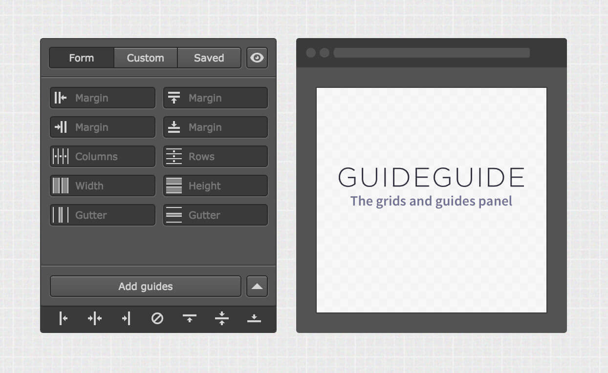 Easily Create Grids & Guides with Photoshop's GuideGuide Extension - only $5!