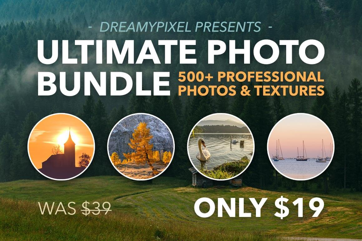 500+ Hi-Res Photos & Textures from DreamyPixel - only $19!