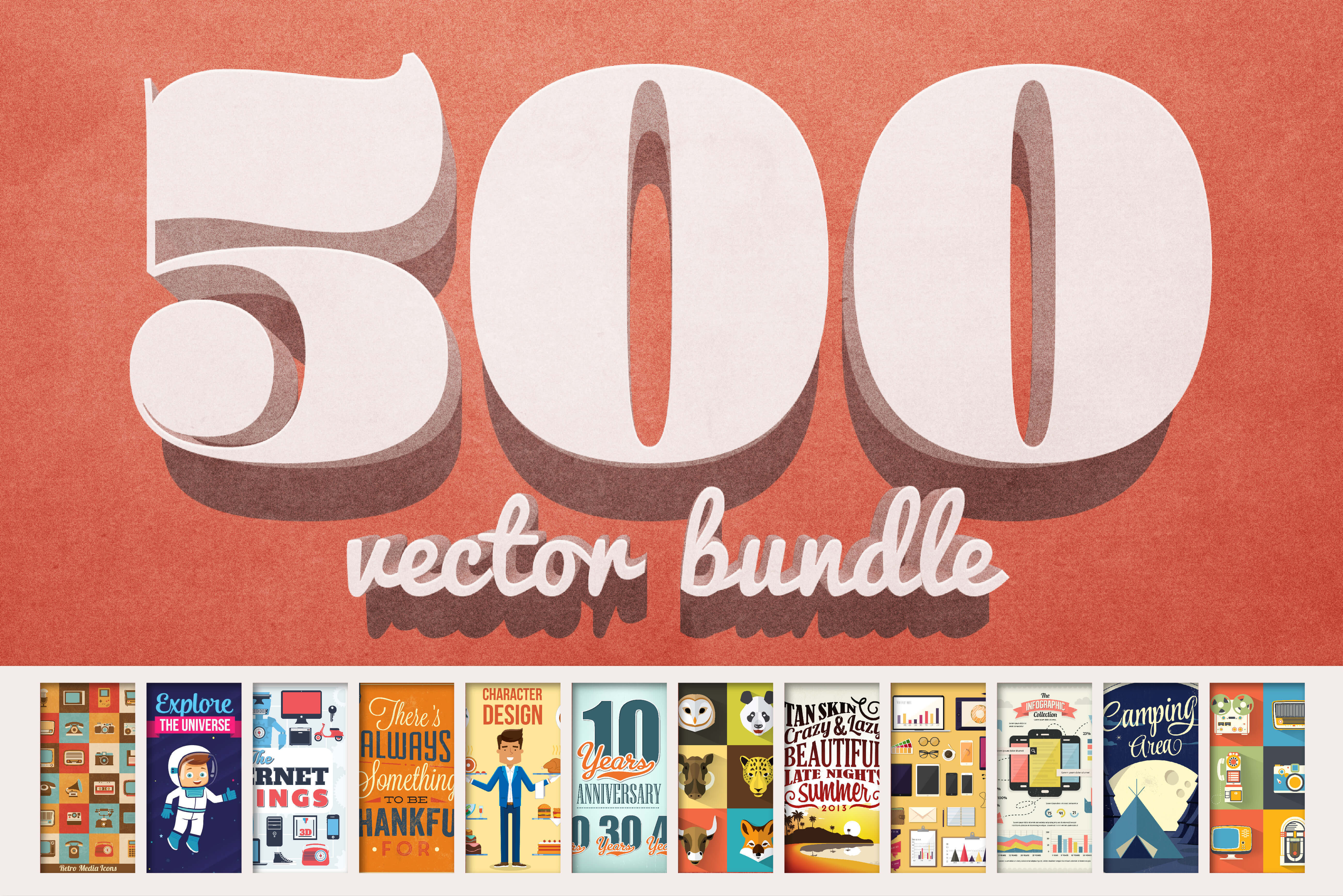 Vectorlicious Bundle: $2,500 Worth of Premium Quality Vectors - only $24!