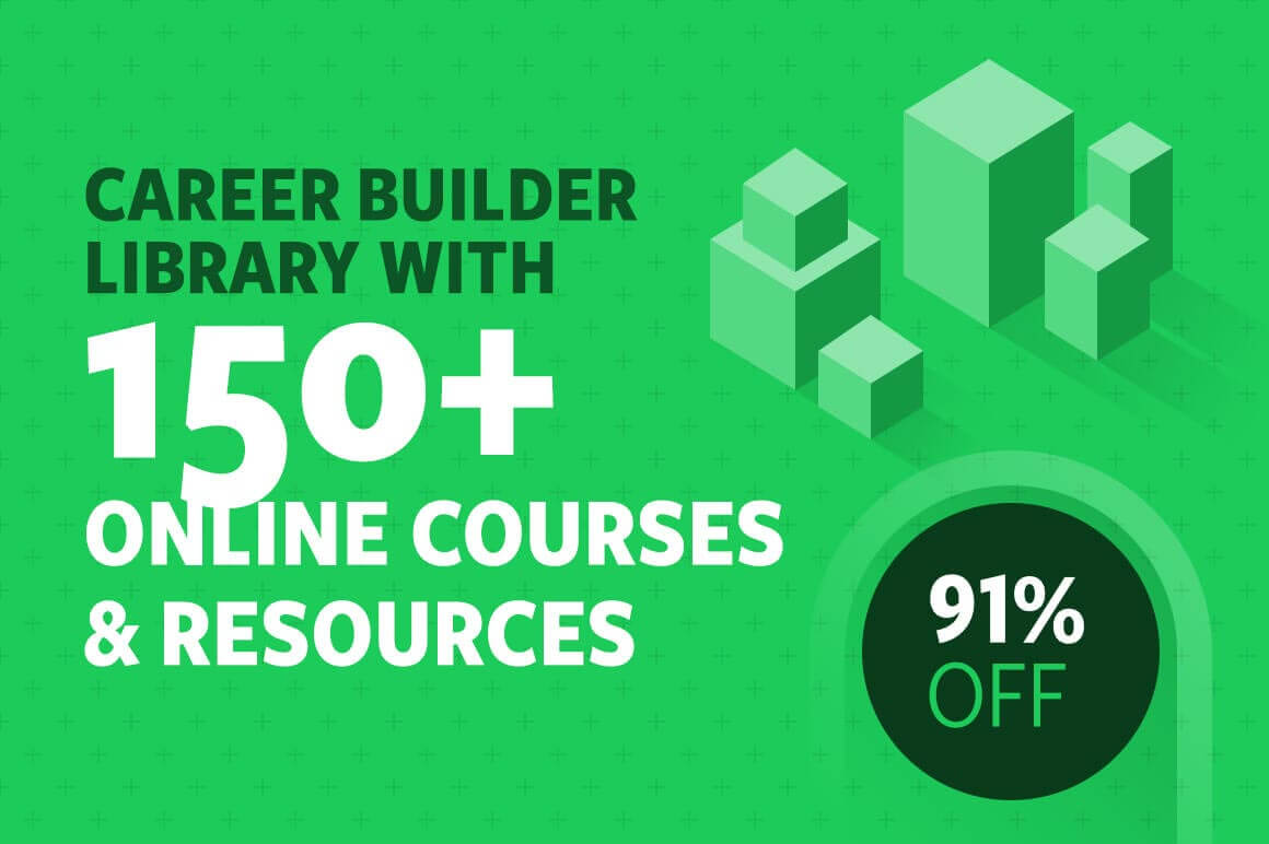 Career Builder Library with 150+ Online Courses and Resources - 91% off!