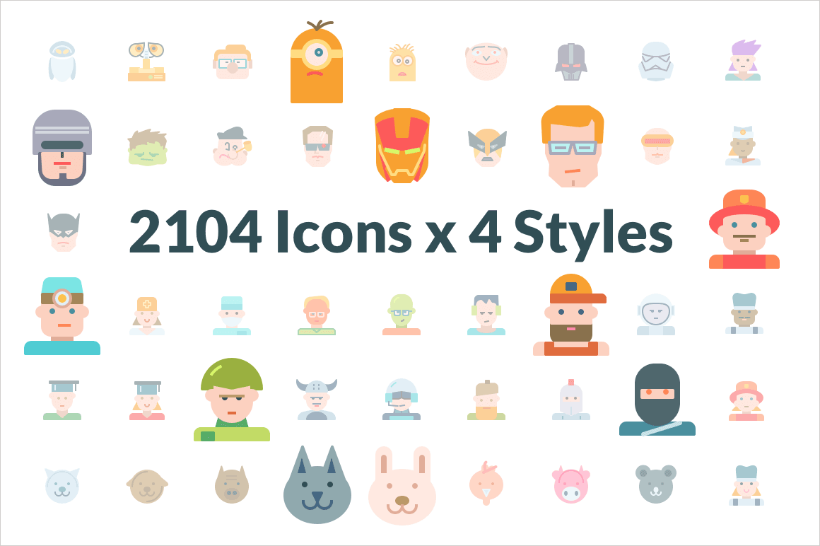 2000+ Premium Swifticons Icons (in 4 Styles) - only $29!