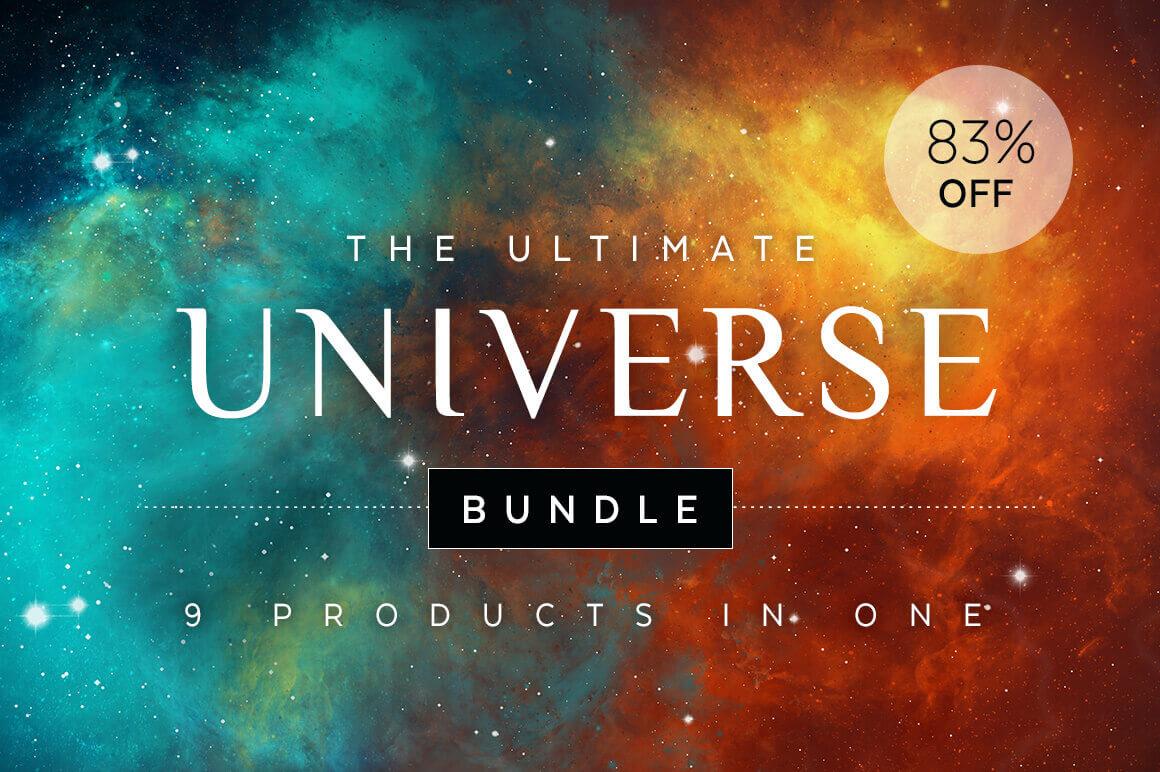 Ultimate Universe Bundle: 100+ Breathtaking Design Elements - only $18!
