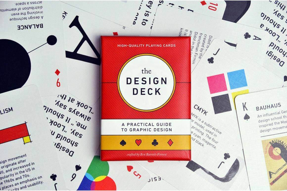 The Design Deck - Playing Cards for Designers - only $14!