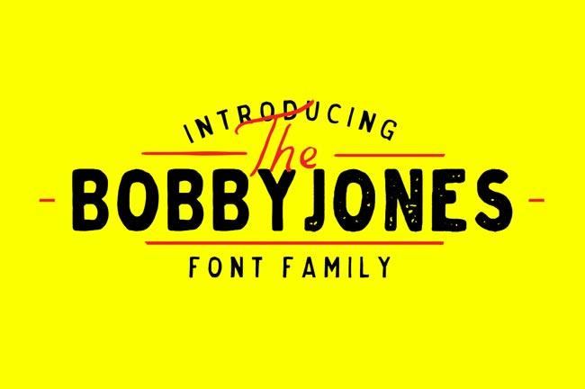 Bobby Jones Font