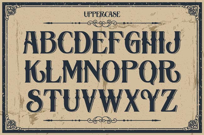 10 Fantastic High Quality Old Fashioned Vintage Fonts ...