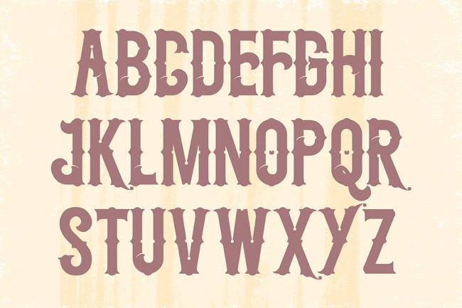 top antique sign fonts - photo #9