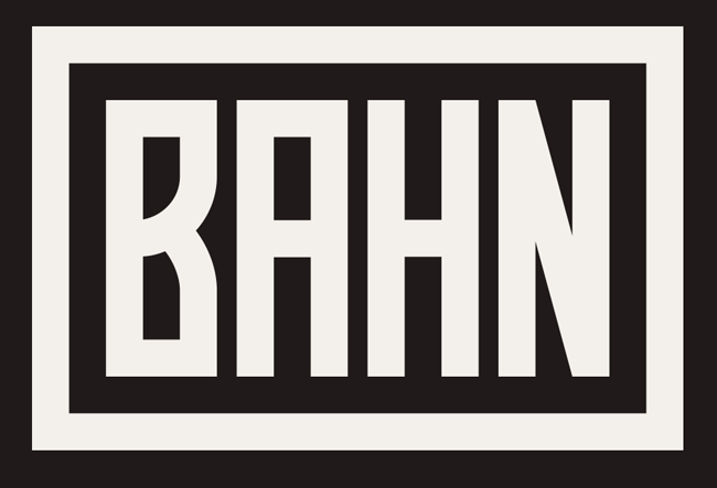 Bahn font