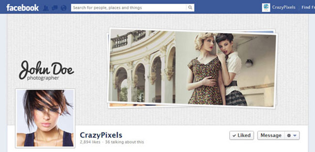 New dress style facebook covers