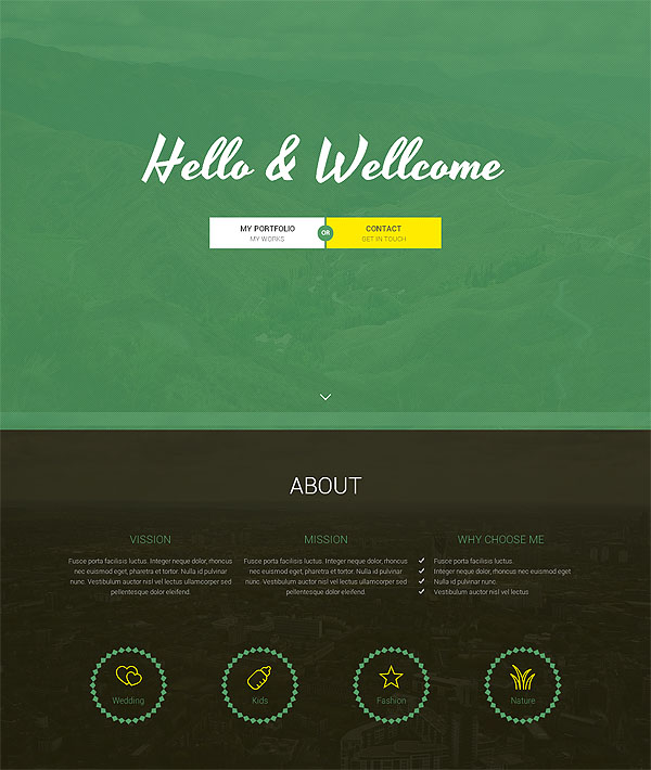 Deal of the week: 21 premium, responsive, one page HTML5 templates   only $19!