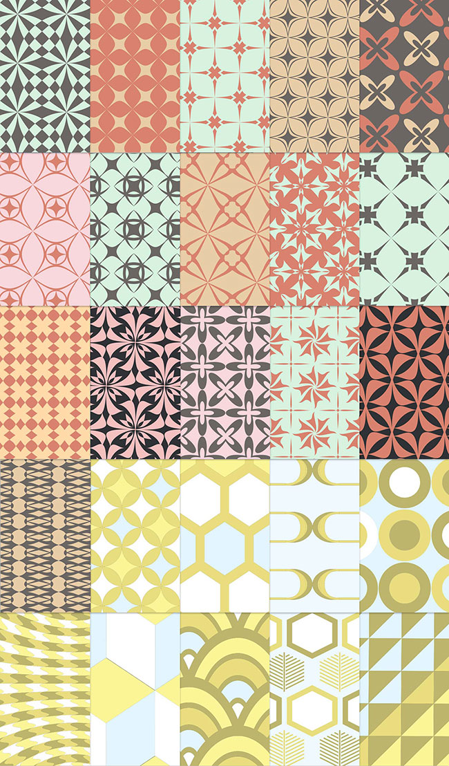 25 retro patterns for free