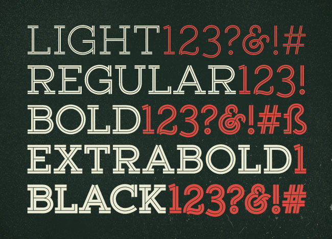 Get all 20 fonts in yellow design studios Gist family for only $14!
