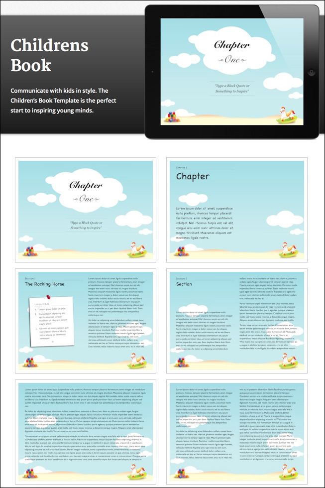 10 creative ibooks author templates only 39 mightydeals