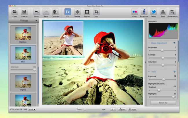 Photo Effect Studio: software per effetti fotografici Photo Effect Studio: software per effetti fotografici screen800x500 1