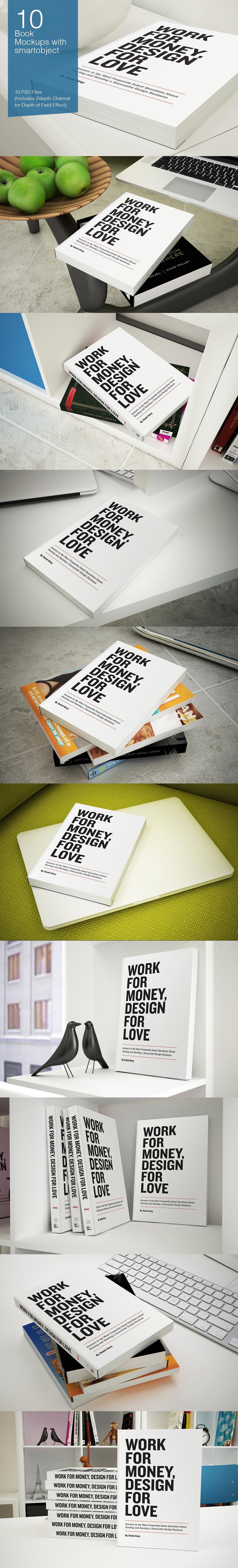 80 print and device mockups