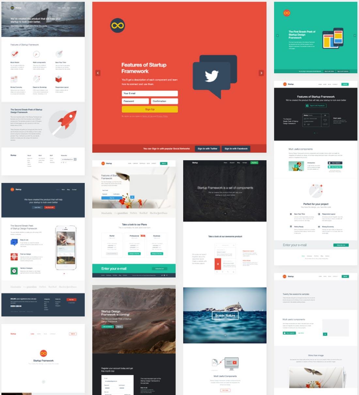 Designmodo Startup Framework Nulled Theme
