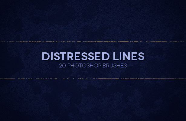 Distressed Lines Brushes