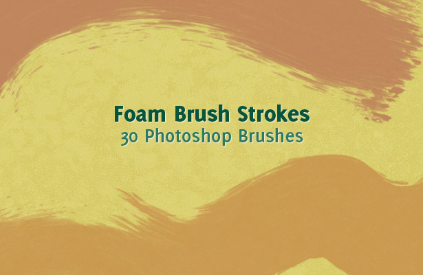 Foam Brush Strokes