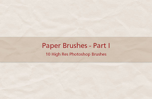 Paper Brushes - Part I