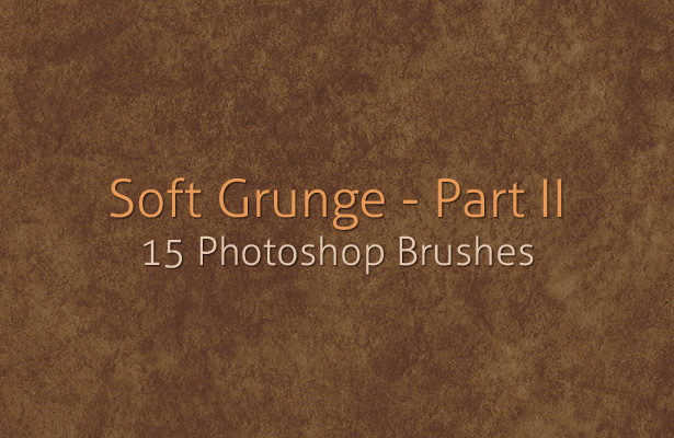 Soft Grunge Brushes - Part II