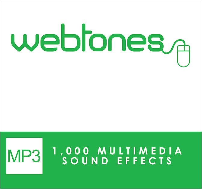 Webtones: 1,000 Multimedia Sound Effects Library - only $27!