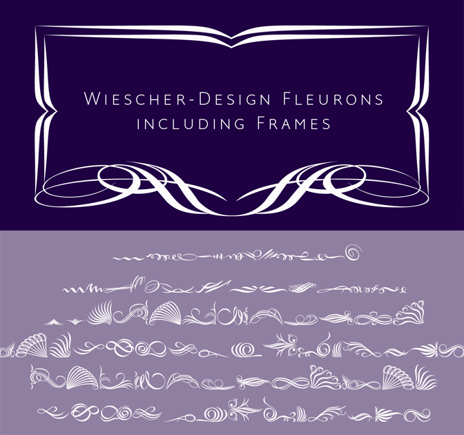 Add Ornamental Elegance with the Fleuron Font - only $12!