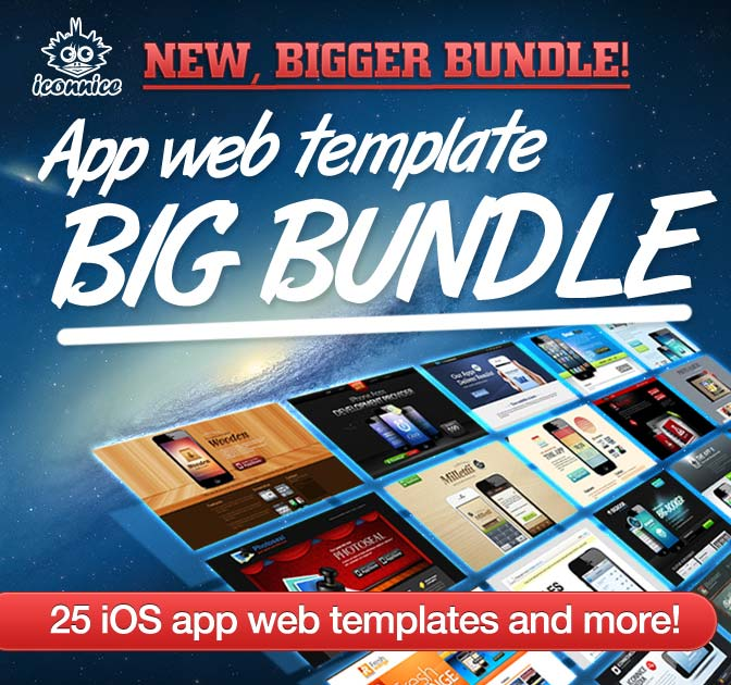 Coupons deals template web app