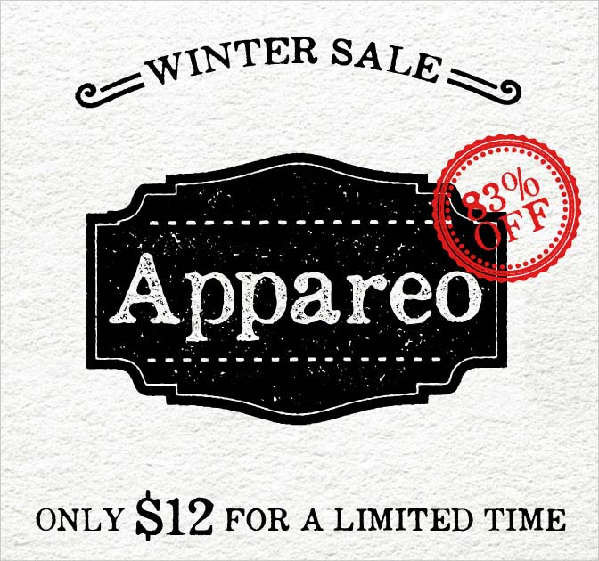 Appareo Font Family - Vintage, Weathered Typeface - only $12!