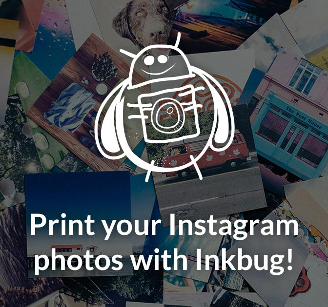 Print your Instagram Photos with Inkbug - only $23!