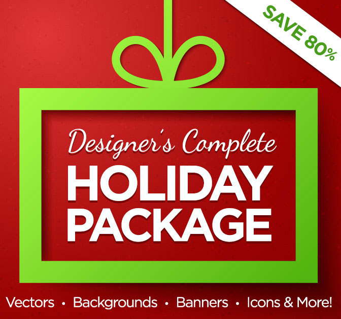 The Designer's Complete Holiday Bundle - only $19!