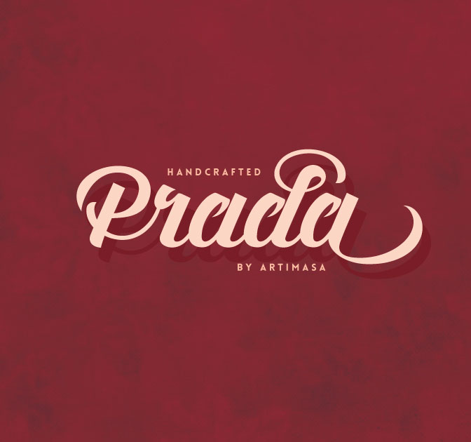 Artimasa's Fun, Vintage Prada Script Font - only $9!