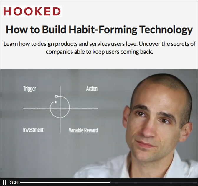 Online course: How to Build Habit-Forming Technology - only $29!